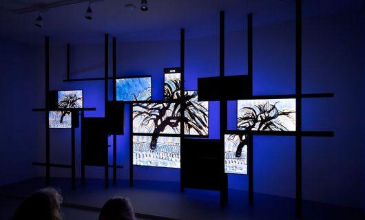 Mondriaanhuis-projectie