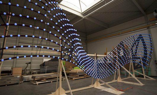 Light-Bridge-lichtontwerp