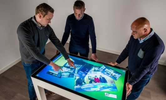 Touch Table Multitouch scherm
